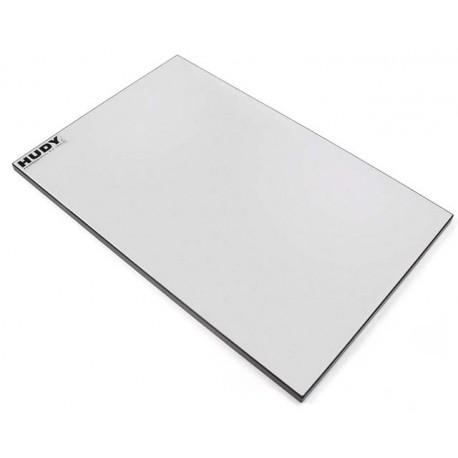 Hudy Piano di riscontro 340x540mm per 1/8 e 1/10 On-Road (art. 108200)