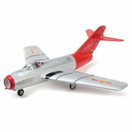 E-flite UMX MiG-15 28mm EDF Jet BNF Basic con AS3X e SAFE Select (art. EFLU6050)