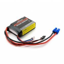 Spektrum Batteria Li-Fe 6,6V 2200mAh 2S per ricevente (art. SPMB2200LFRX)