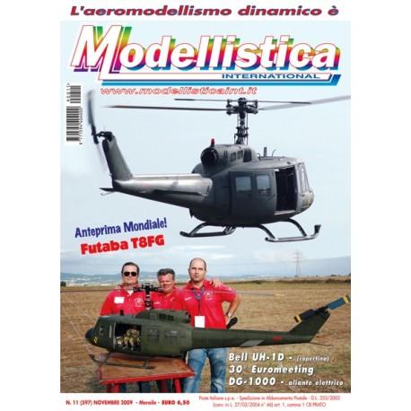 Modellistica Rivista di modellismo n°11 Novembre 2009
