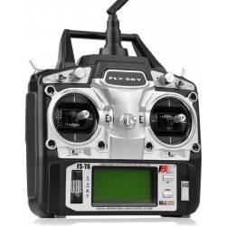 FlySky Radiocomando FS-T6 2,4Ghz 6 canali con ricevente (art. FS550)