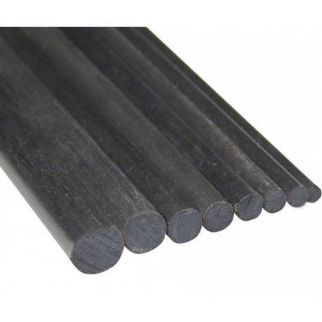 Graupner Barra tonda carbonio diametro 16x500 mm 1 pezzo (art. 5220.165)