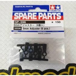 Tamiya Set tiranti in plastica foro 4mm 6 pezzi (art. TA50596)
