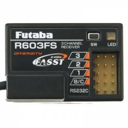 Futaba Ricevente 3 Canali R603FS 2,4GHz FASST (art. FU139)
