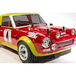 Ezpower Automodello Fiat 124 Abarth Rally ARTR carrozzeria verniciata (art. EZRL126)