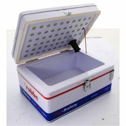 Robbe Valigia Ro-Safety per trasporto e ricarica batterie Li-Po 250x165x100mm (art. 7003)