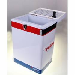 Robbe Valigia Ro-Safety XL per trasporto e ricarica batterie Li-Po 380x250x165mm (art. 7004)