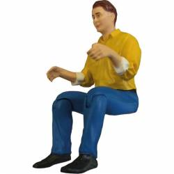 Robbe Pilotino seduto altezza 90mm scala 1/14 (art. 5208)