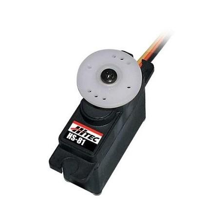 Hitec Servocomando HS-81 Microservo analogico (art. 31081S)