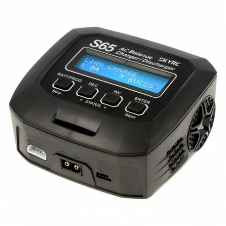 SkyRC Caricabatterie S65 AC LiPo 1-4S 6A 65W Charger (art. SK100152)