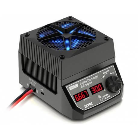 SkyRC Scaricatore e analizzatore di batteria BD200 30A (art. SK600123)