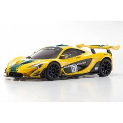 Kyosho Mini-Z McLaren P1 GTR RWD Giallo / Verde MR-03 Readyset (art. 32324YG)