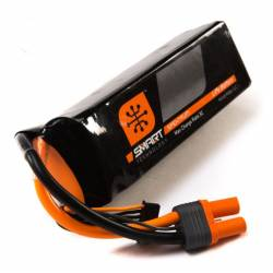 Spektrum Batteria Li-Po 6S 22,2V 5000mAh 30C Smart connettore IC5 (art. SPMX50006S30)