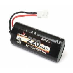 Dynamite Batteria Ni-Mh 4,8V 220mAh per Micro SCT, Rally, Truggy (art. DYNB0007)