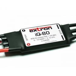 Extron Regolatore elettronico per motori Brushless ESC iQ-80 80A 2-6 Lipo BEC (art. X4035)