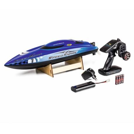Carson Motoscafo elettrico Speed Shark Auto-raddrizzante Brushed 100% RTR (art. 500108026)