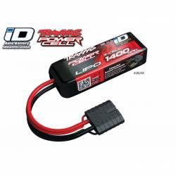 Traxxas Batteria Li-po 11,1V 1400mAh 25C 3S connettore Traxxas Power Cell iD (art. TXX2823X)