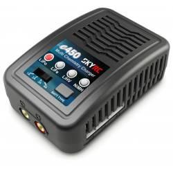 SkyRC Caricabatterie e450 per LiPo 2-4S / NiMh 6-8S Carica 4A 50W 220V (art. SK100122)