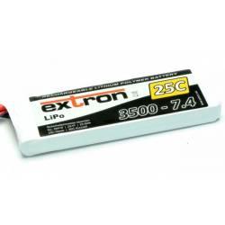 Extron Batteria Li-po X2 7,4V 3500mAh 25-50C connettore XT90 (art. X6418)
