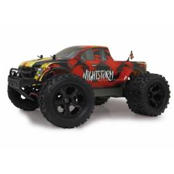 Jamara Automodello Nightstorm Monstertruck BL Lipo 4WD 2,4Ghz scala 1/10 LED RTR (art. 059737)