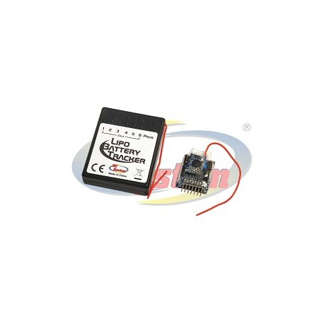 Rc System Li-Po Battery Tracker (art. RCE0012)