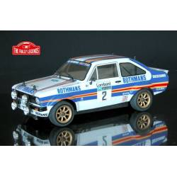 Ezpower Automodello Ford Escort RS 1800 1981 ARTR Verniciata Rothmans (art. EZRL083)