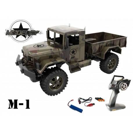 Fantasyland Camion M1 Military Truck pronto all'uso con batteria ricaricabile (art. DF1555)
