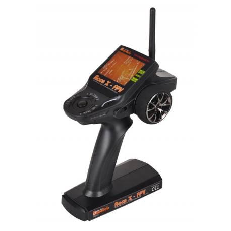 DF Models Radiocomando 2 canali Race X con visore FPV 5,8GHz e ricevente (art. DF2210)