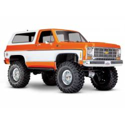 Traxxas Automodello TRX-4 Chevrolet BLAZER trial crawler Arancione (art. TXX82076-4A)