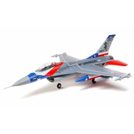 E-flite F-16 Falcon 64mm EDF BNF Basic con AS3X e SAFE Select (art. EFL9850)