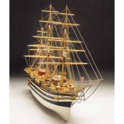 Mantua Model Amerigo Vespucci lunghezza 1000mm scala 1/100 kit di montaggio (art. 799)