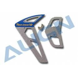 Align Pinna stabilizzatore di coda per Trex 450SE V2 in carbonio (art. HS1252-75)