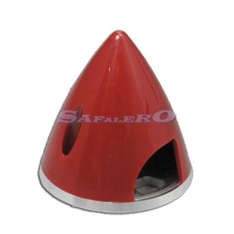 Great Planes Ogiva Nylon rossa fondello alluminio 45mm (art. GPMQ4756)