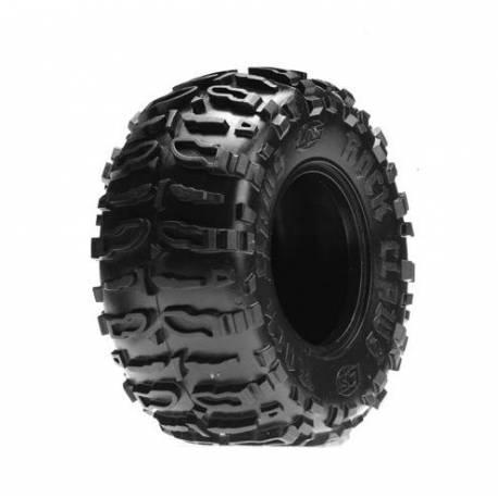 Losi Coppia gomme Rock Claws 2.2 Tires con Foam Blue Front / Rear (art. LOSA7682B)