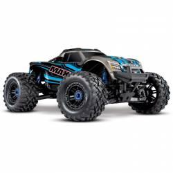 Traxxas MAXX VXL 4S Monster Truck elettrico colore Blu (art. TXX89076-4-BLUE)