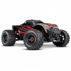 Traxxas MAXX VXL 4S Monster Truck elettrico colore Rosso (art. TXX89076-4-RED)