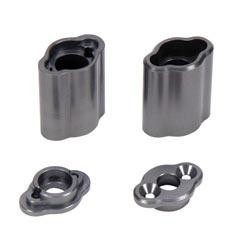 Team Losi Rear Hub Carrier Set, Aluminum: CCR (art. LOSA2032)
