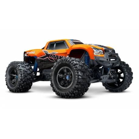 Traxxas X-Maxx 8s Orange-X Edition Monster Truck elettrico con TSM (art. TXX77086-4-ORNGX)