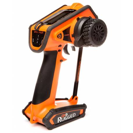 Spektrum Radiocomando DX5 Rugged DSMR solo Tx Special Edition Orange (art. SPMR5200OEU)