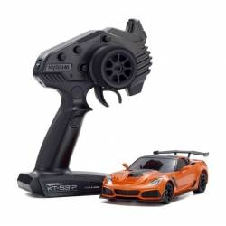 Kyosho Mini-Z Chevrolet Corvette ZR1 Sebring RWD Orange MR-03 Readyset (art. 32334OR)