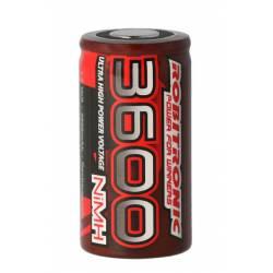 Robitronic Batteria ricaricabile SubC 1,2V 3600mAh Ni-mH (art. EP3600)