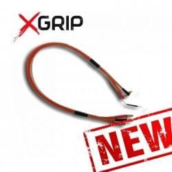 X-GRIP Cavo ricarica batteria Lipo 2S 7,4V Special Edition ORANGE connettore 4 e 5mm (art. X-GRIP-9205)