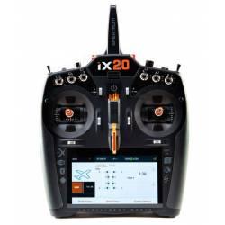 Spektrum Trasmettitore iX20 DSMX 20Ch Transmitter Only Black (art. SPMR20100EU)