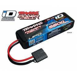Traxxas Batteria Li-po 7,4V 5800mAh 25C 2S connettore Traxxas Power Cell iD (art. TXX2843X)