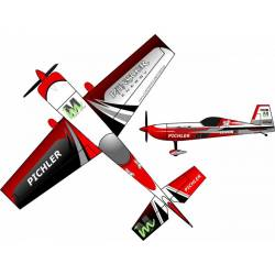 Pichler Aeromodello Extra 330 Martin Münster Energy Superlite Rosso 840 mm kit (art. C9178)