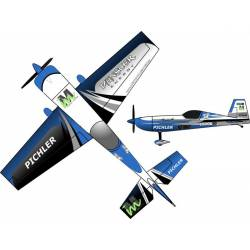 Pichler Aeromodello Extra 330 Martin Münster Energy Superlite Blu 840 mm kit (art. C9177)