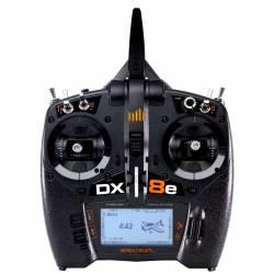 Spektrum Nuova DX8e DSMX 8 canali solo Trasmettitore Mode 2 (art. SPMR8105)