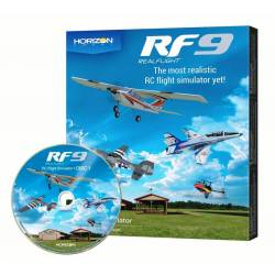 Horizon Hobby Simulatore di volo RealFlight RF9 versione solo Software (art. RFL1101)