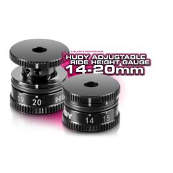Hudy Misuratore di altezza regolabile 14-20mm (art. 107740)