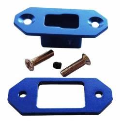 Maxpro Supporto in alluminio anodizzato CNC per connettore Deans (art. MAXCTW001)